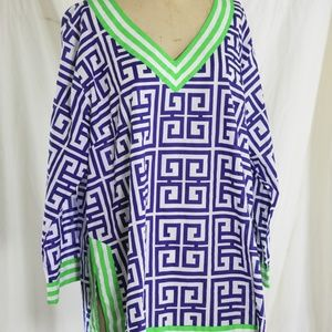 Gretchen Scott Women's XXXL Cotton Tunic (NWT)